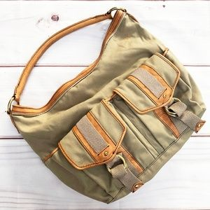 Marc Jacobs | Slouchy Canvas Utility Shoulder Bag